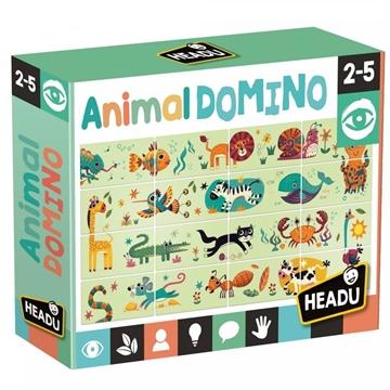 Слика на Домино со животни - Headu