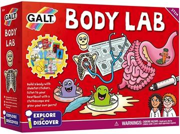 Слика на Лабораторија за човековото тело (Комплет со експерименти) - Galt
