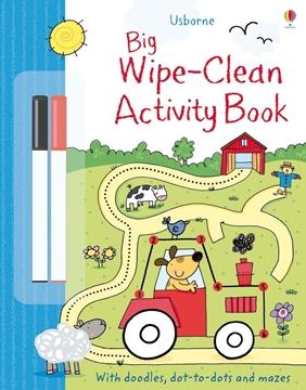 Слика на Big Wipe Clean Activity Book