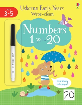 Слика на Early Years Wipe-Clean Numbers 1 to 20
