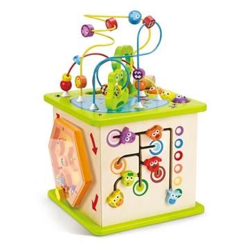 Слика на Голема коцка со активности - Hape