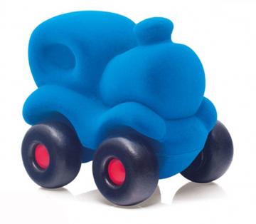 Слика на Парна локомотива - Rubbabu (Сина, 16,5 cm) Возрaст: 1 г+