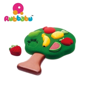 Слика на Едукативна сложувалка - Овошје - Rubbabu