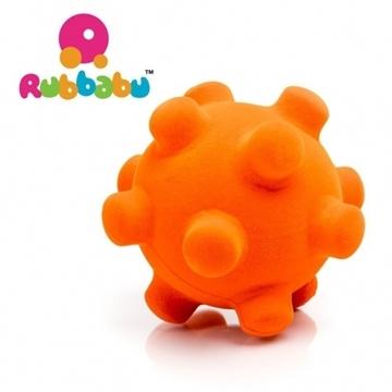 Слика на Сензорна топка - Rubbabu (Портокалова, Ø 10 cm) Возрaст: 1 г+
