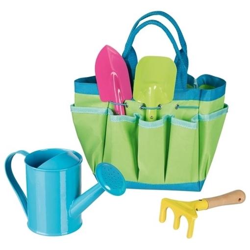 Слика на Торбичка со алати за мали градинари - Goki