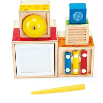 Слика на Дрвен комплет со музички играчки - Hape
