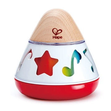 Слика на Дрвена музичка играчка - Музичка кутија што се врти - Hape