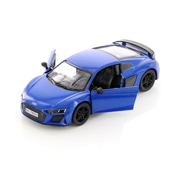 Слика на Audi R8 Coupé, 1:36, 13 cm - Blue (Kinsmart)