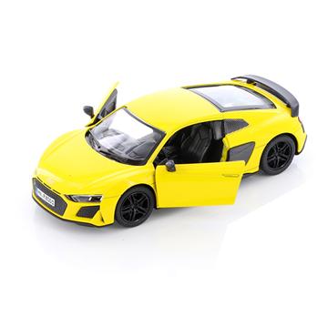 Слика на Audi R8 Coupé, 1:36, 13 cm - Yellow (Kinsmart)