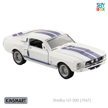 Слика на Shelby GT-500 (1967) White - 1:38, 12,5 cm
