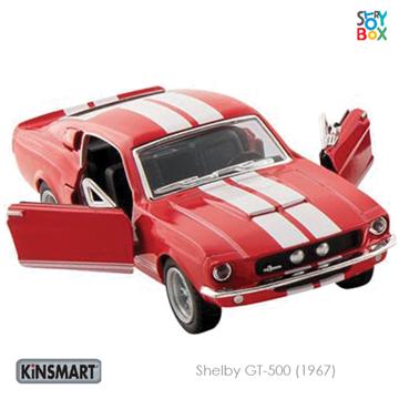 Слика на Shelby GT-500 (1967) Red - 1:38, 12,5 cm