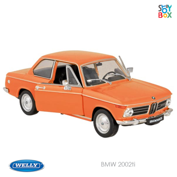 Слика на BMW 2002TI, L= 17.5 cm (Welly)